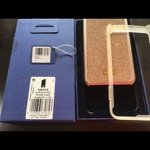 Swarovski Rose Gold iPhone 7/8+ Case~HARDLY USED!